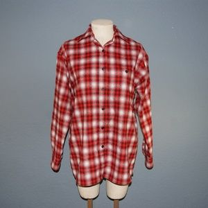 PENDLETON Vintage Plaid Wool Flannel Buttondown M